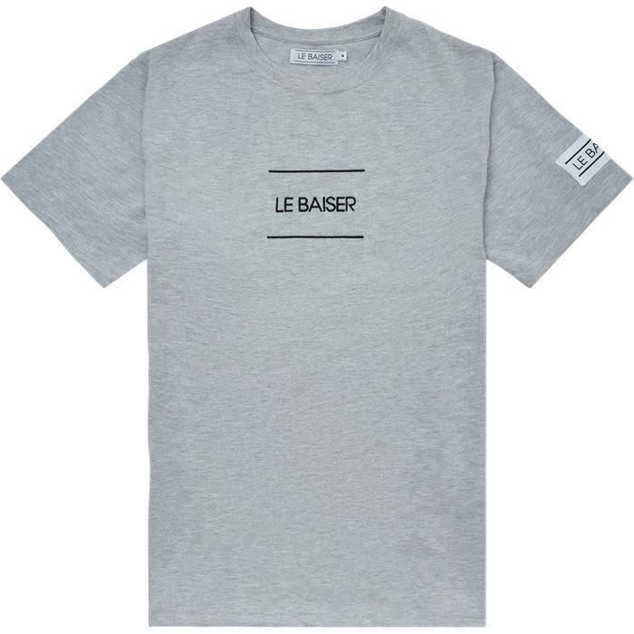 Caen T-shirt - T-shirts - Regular - Grå